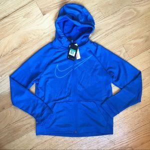 NWT Nike Blue Zip Up Hoodie